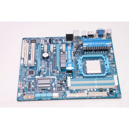 Canvas Print Mainboard Motherboard Phenom Gigabyte Am3 Amd Stretched Canvas 10 x 14