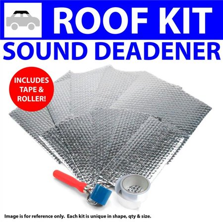Heat & Sound Deadener for 1960-1969 Chevy Corvair Roof Kit with Tape & Roller