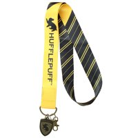 "Harry Potter Lanyard ID Holder 2"" Embossed Metal House Charm Ravenclaw Hufflepuff Gryffindor Slytherin"