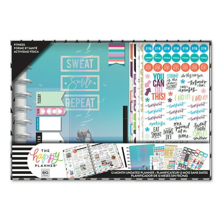 Me & My Big Ideas The Happy Planner - Classic Box Kit - Fitness