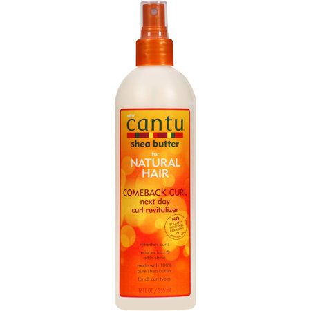Cantu Comeback Curl Next Day Curl Revitalizer, 12 fl oz