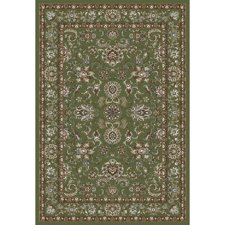 Traditional High Quality Floral Area Rug with Classic Border, 0147