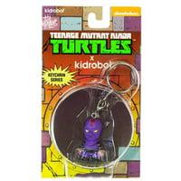Kidrobot Teenage Mutant Ninja Turtles Foot Soldier Mini Keychain Figure
