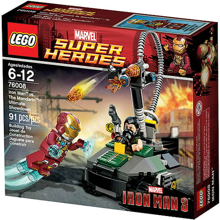 Lego Super Heroes Iron Man Vs The Mandarin Play Set Walmart Com