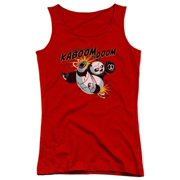 Kung Fu Panda Kaboom Of Doom Juniors Tank Top Shirt