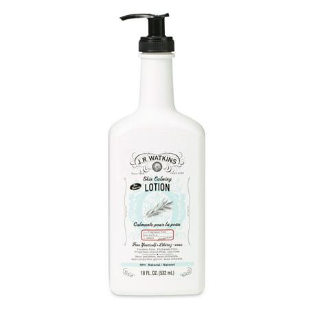 Watkins Fragrance Free, Skin Calming Daily Moisturizing Lotion, 18 Fl - Calming Fragrance