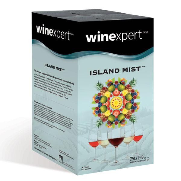 Island Mist Pomegranate Zinfandel Wine Making Kit