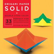 """Origami Paper - Solid - 6 3/4"""" - 33 Sheets: Tuttle Origami Paper: High-Quality Origami Sheets Printed with 8 Different Colors: Instructions for 6 Projects Included (Other)"""