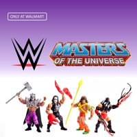Shop the Walmart Excluse WWE Masters of the Universe Collection