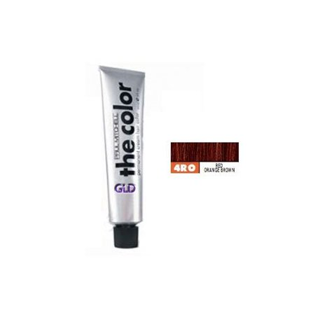 Paul Mitchell The Color 4RO Red Orange Brown Permanent Cream Hair Color 3 OZ (Burnt Orange Color Hair)
