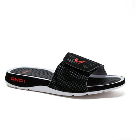 c3060391a64 AND1 - AND1 Men s Enigma 2.0 Slide Sandal - Walmart.com