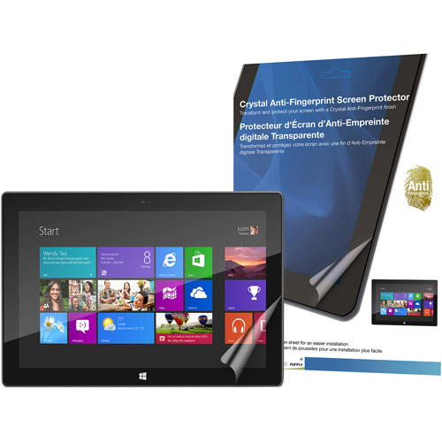 Green Onions RT-SPMSRT01AF Crystal Anti-Fingerprint Screen Protector for Microsoft Surface
