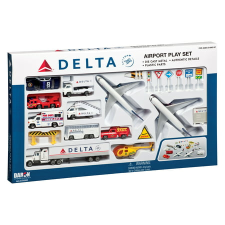 - DELTA 25 PC AIRPORT PLAY SET
