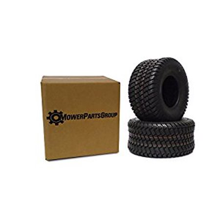 Lawn Tractor Tires ((2) Wanda 18x9.50-8 Tires 4 Ply Lawn Mower Garden Tractor 18-9.50-8 Turf Master)