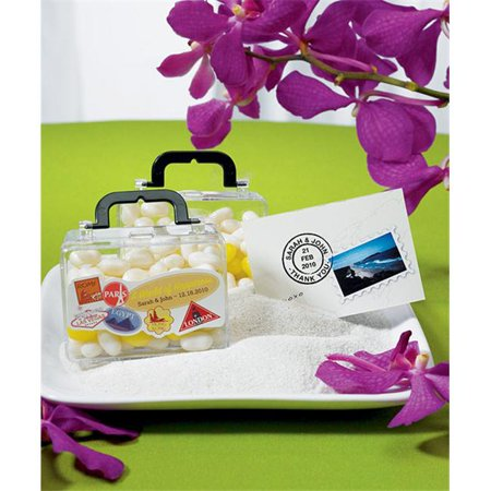 Wedding Star X8708 Miniature Travel Suitcase Container