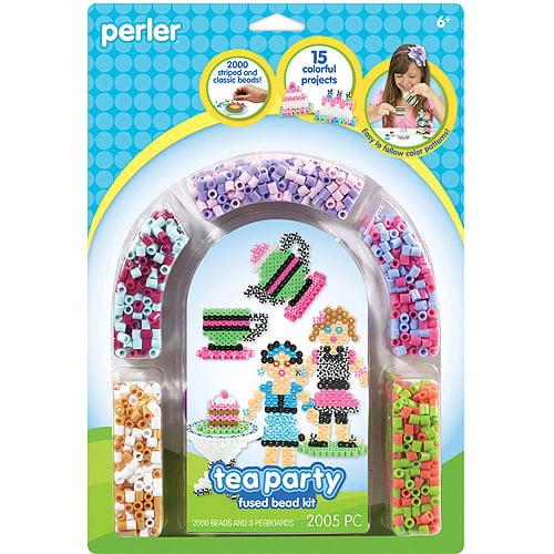 Perler Fun Fusion Fuse Bead Activity Kit, Tea Party