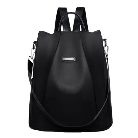 Fashion Oxford Cloth Anti-Theft Backpack Fashion Wild Ladies Shoulders - image 1 of 9