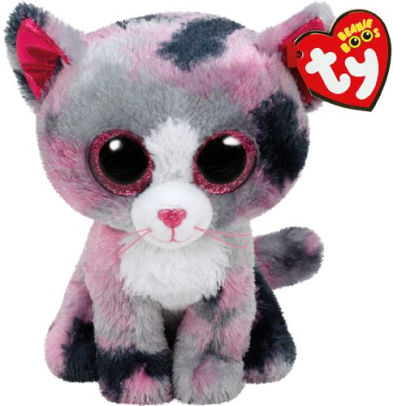 TY Beanie Boo Plush - Lindi the Cat 6""