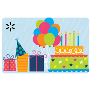 Birthday Scene Walmart eGift Card