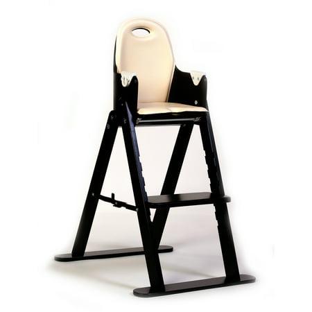 Svan Baby-to-Booster Bentwood High Chair, Espresso/Almond Cushion