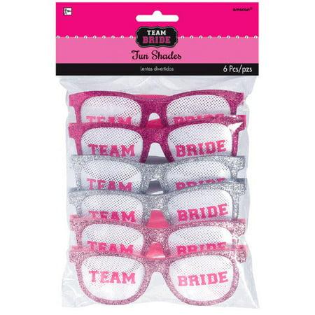 Bachelorette Team Bride Funshades Eyeglasses Multipack - Team Bride
