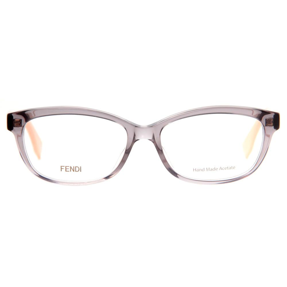 aec1f0eafa1 Fendi FF 0015 7TE Clear Gray Pink Caramel Women s Eyeglasses 54mm -  Walmart.com