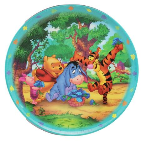 Disney's Winnie the Pooh and  Friends Kids Melamine Dinner Plate - Winnie The Pooh Party
