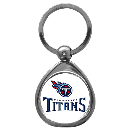 Tennessee Titans Official NFL  Chrome Key Chain Keychain by Siskiyou