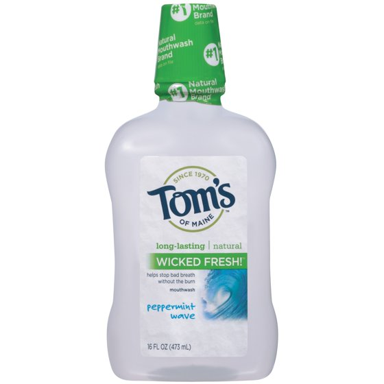 addbc257673 Tom s of Maine Wicked Fresh! Peppermint Wave Mouthwash