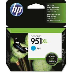 HP 5 Units 951Xl Cyan Ink Cartridge - For Officejet