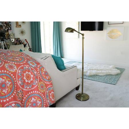 71u0022 Dane Adjustable Pharmacy Floor Lamp