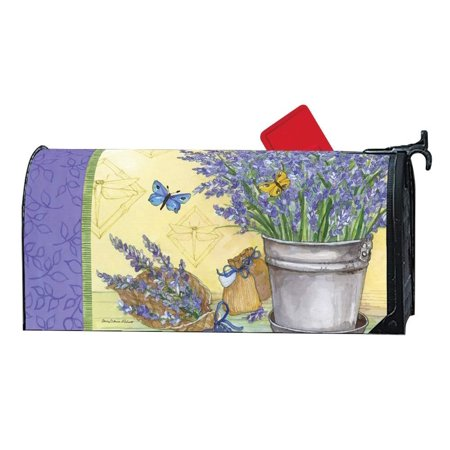 Magnet Works Lavender MailWrap Magnetic Mailbox Wrap Cover