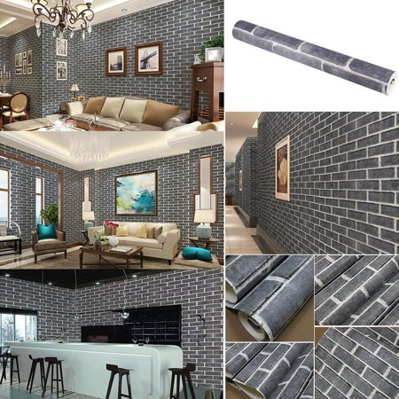3d Wallpaper Decor Home Tool Fosa 9 5m 3d Wallpaper Brick Pattern Waterproof Wall Paper Decor Home Tool