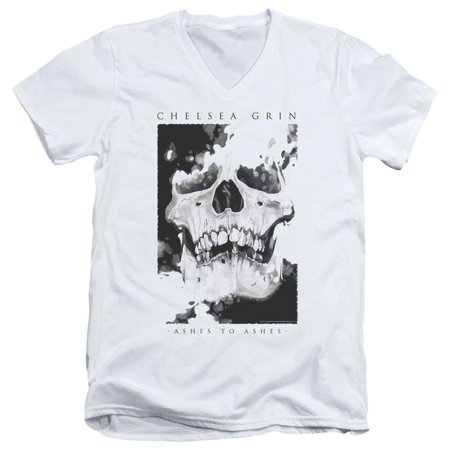 Chelsea Grin Ashes To Ashes Officially Licensed Adult V Neck T Shirt