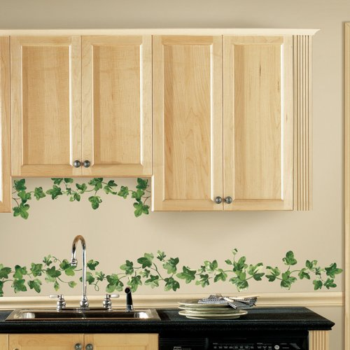 Wallhogs Painterly Ivy Wall Decal