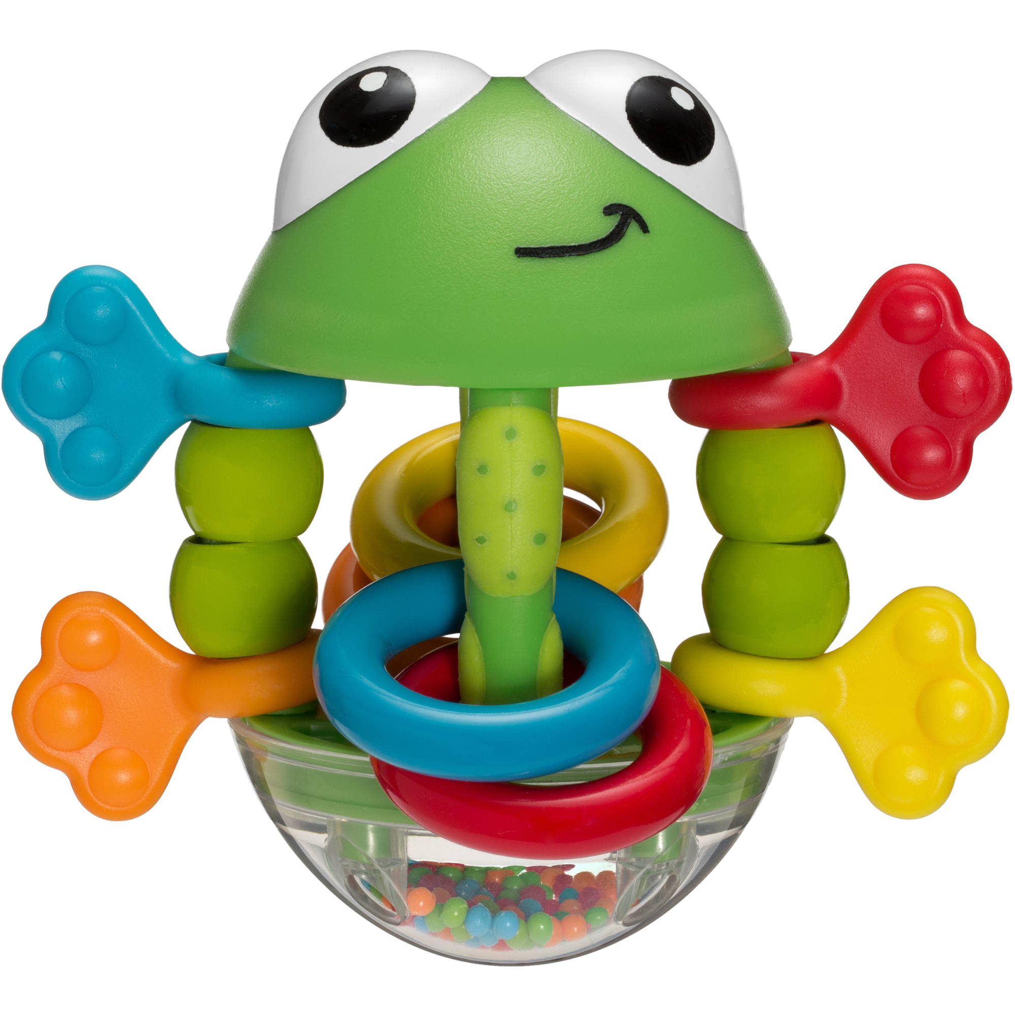 Infantino Topsy Turvy Flip Flop Frog Rattle by Infantino