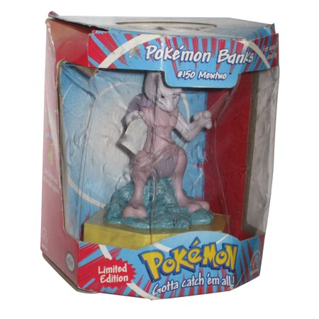 Applause Toy Store - Pokemon Mewtwo #150 Limited Edition Applause Toy Figure Bank
