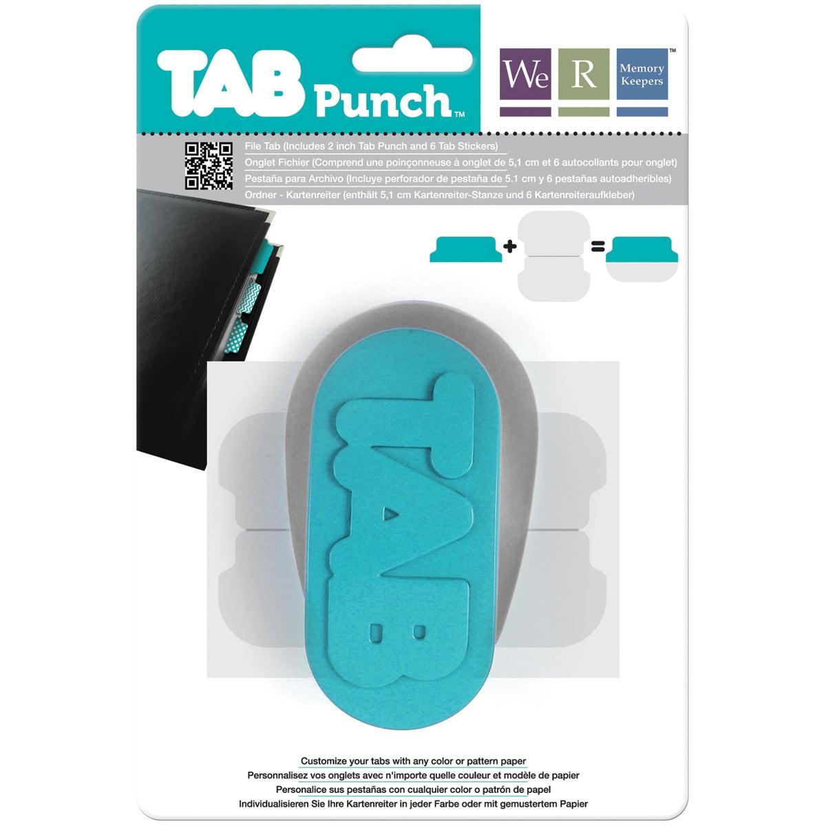 "Tab Punch, File, 2"""
