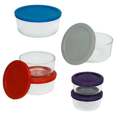 Pyrex Simply Store Glass Bakeware Set, 12 Piece