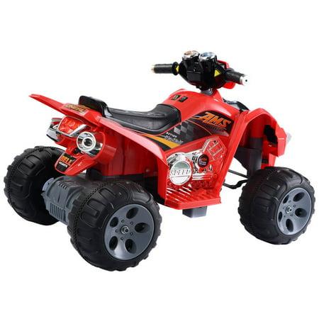 Kids ride on atv quad 4 wheeler electric toy car 12v for Motorized 4 wheeler for toddlers