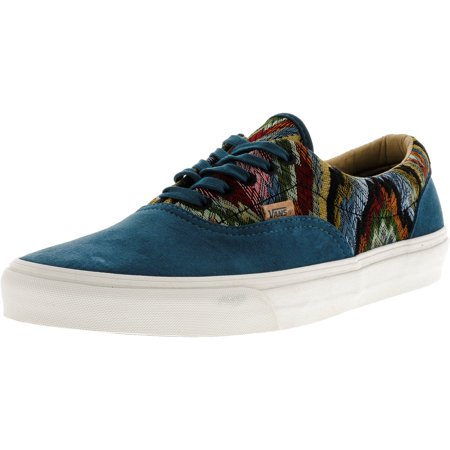 a335a87711 Vans - Vans Men s Era Ca Italian Weave And Pig Suede Atlantic Deep  Ankle-High Skateboarding Shoe - 11M - Walmart.com