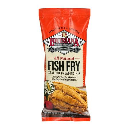 Louisiana fish fry products all natural seafood breading for Louisiana fish fry products