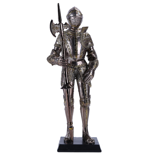 "Pacific 13"" Tall Medieval Knight Statue Figurine Suit of ..."