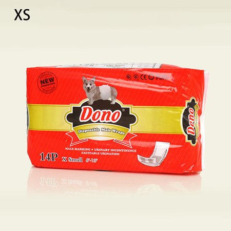 Pet Dog Diapers Male Dogs Paper Physiological Diaper Disposable Male Wraps Sanitary Pants New