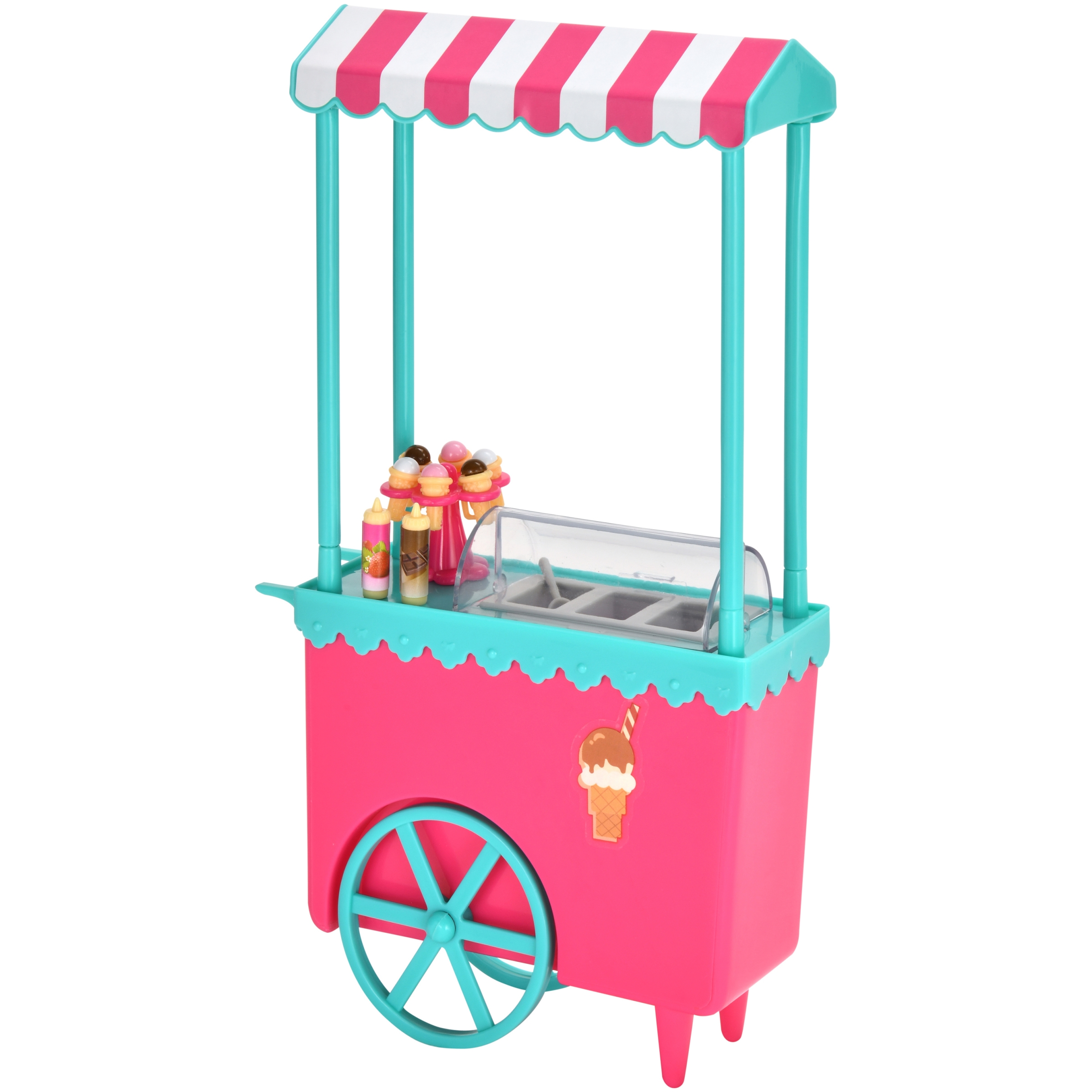 Kid Connection 19-Piece Ice Cream Stand Play Set