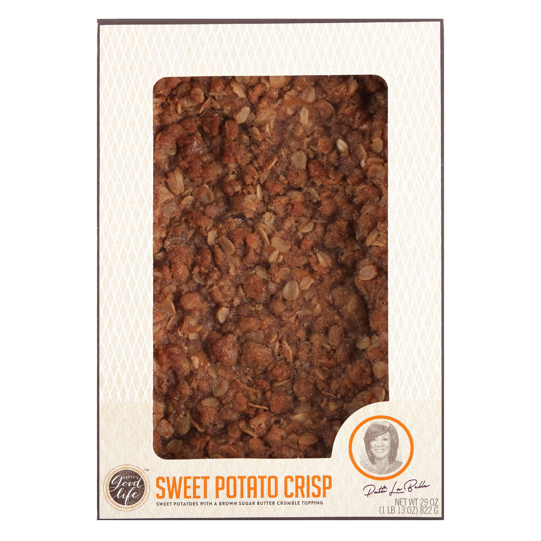 Patti LaBelle Sweet Potato Crisp, 29 oz. - Walmart.com