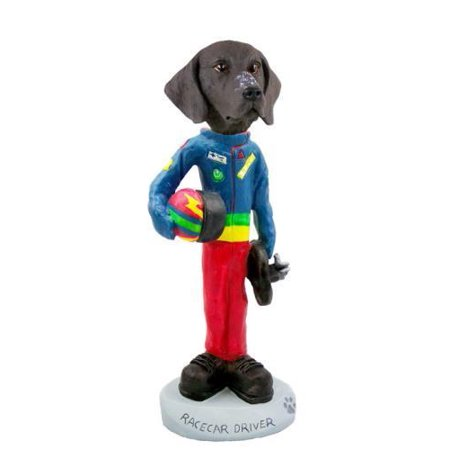 German Short Haired Pointer Racecar Driver Doogie Collectable (Best Cars For Short Drivers)