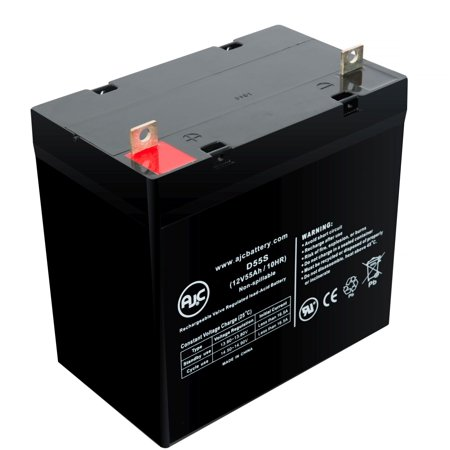 Balder F290 Finesse Junior Liberty 12V 55Ah Scooter Battery - This is an AJC Brand® Replacement
