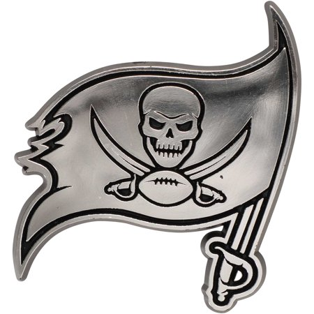 NFL Tampa Bay Buccaneers Chrome Automobile Emblem Nfl Football Emblem