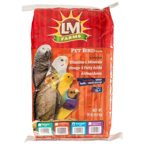 LM Animal Farms Parakeet Diet